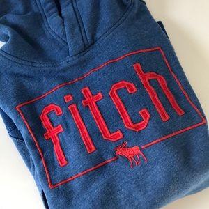 Abercrombie Kids Blue Fitch Hoodie Sweatshirt